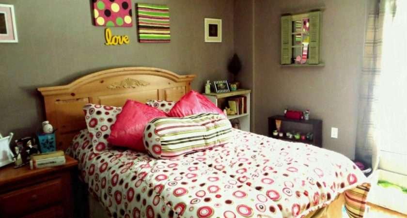 Grey Teenage Bedroom Red Black