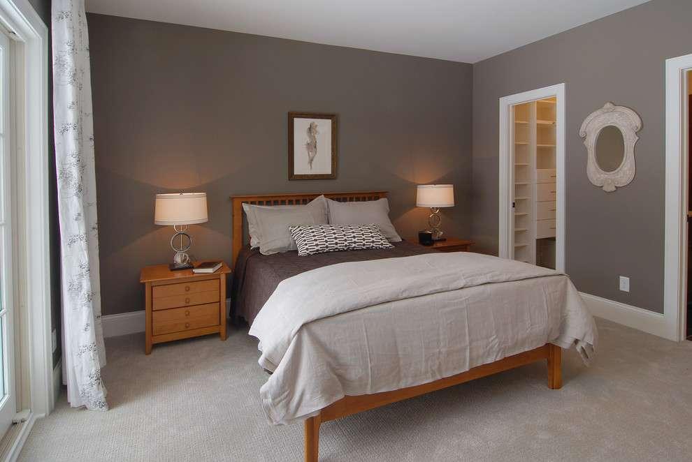 Grey Walls Beige Carpet Bedroom Traditional Coachmen