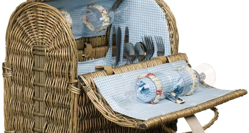 Grey Willow Picnic Hamper Persons Johnlewis