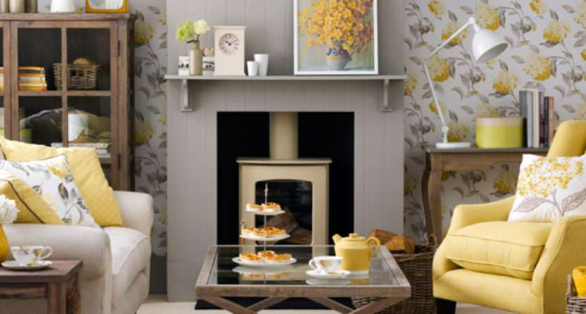 Grey Yellow Living Room Ideas Cor Inspiration