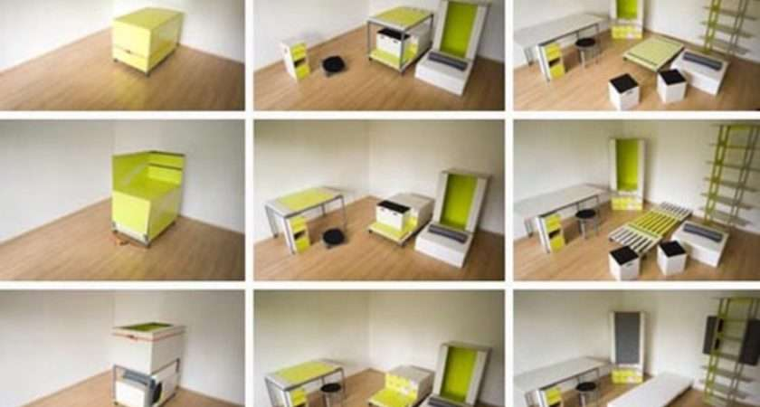 Habitaciones Dise Una Caja Arquitectura Transformable