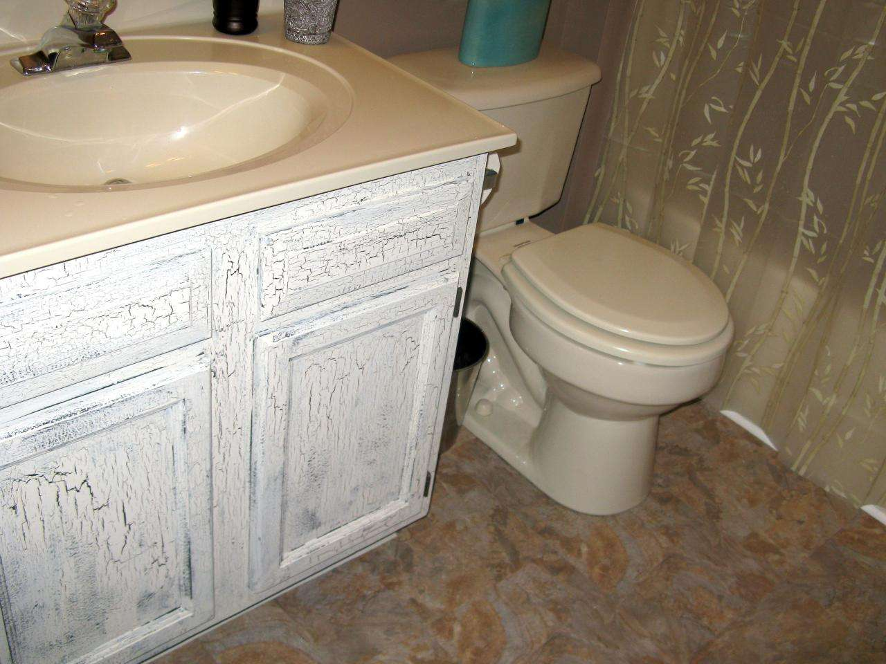 Half Day Designs Shabby Chic Bathroom Makeover Interior Design