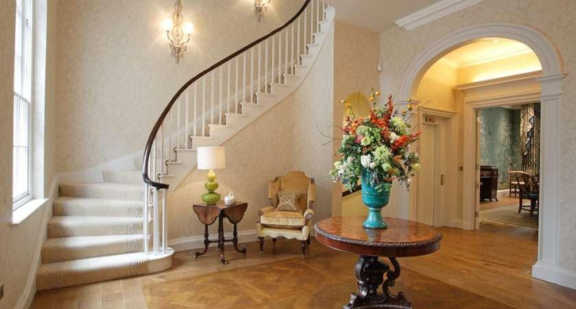 Hall Ideas Design Victorian White Risers