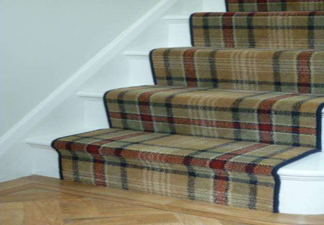 Hall Landing Stairs Major Stripe Collection Carpets