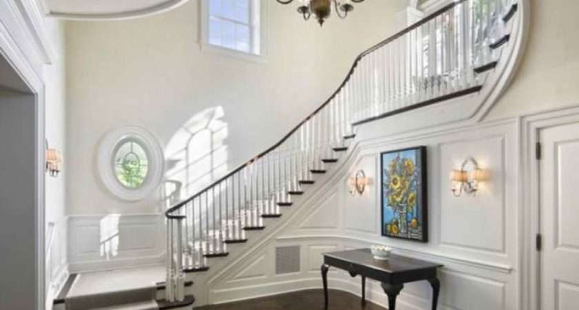 Hall Stairs Landing Decorating Ideas Entryways Halls Stairways
