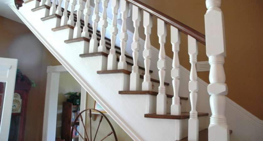 Hall Stairs Landing Decorating Ideas
