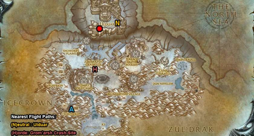 Halls Stone Dungeon Entrance Map