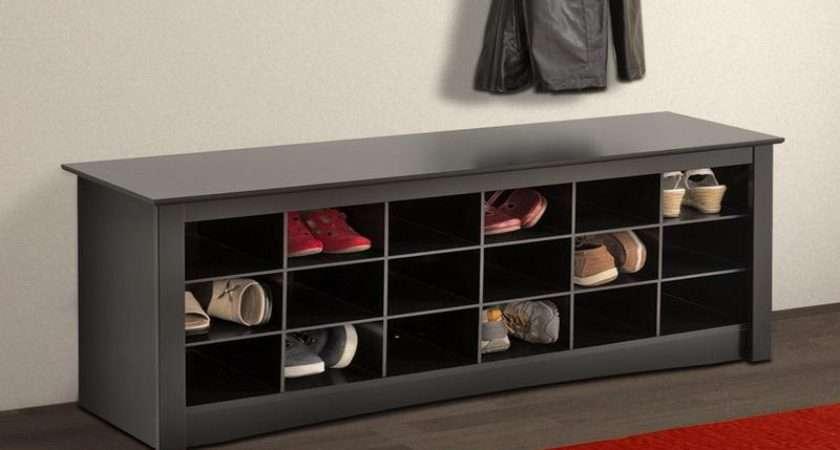 Hallway Shoe Storage Bench