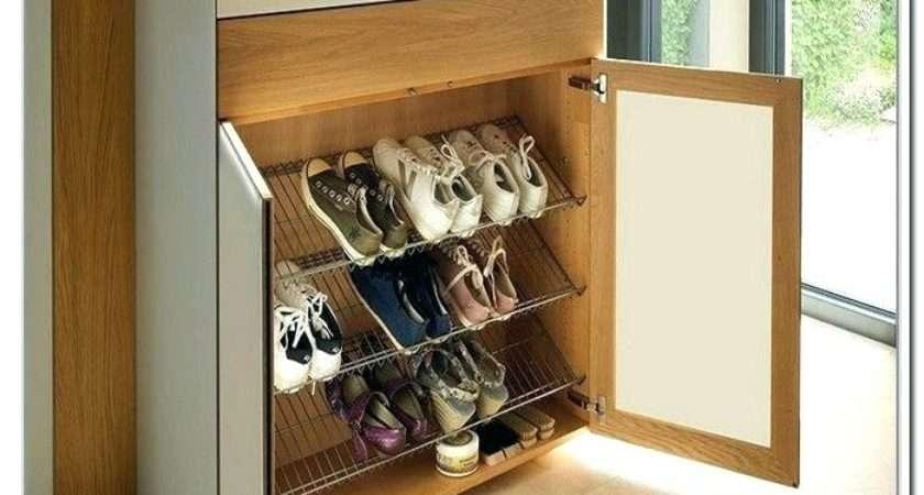 Hallway Shoe Storage Makehersmile