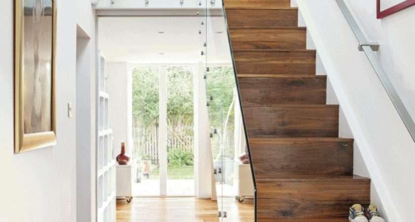 Hallway Step Inside Susann Open Plan Home