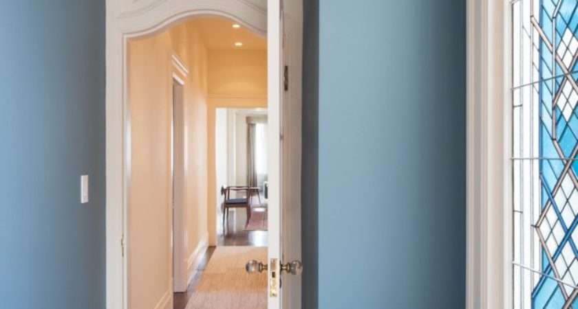 Hallway Wall Colors Hall Transitional Ceilings