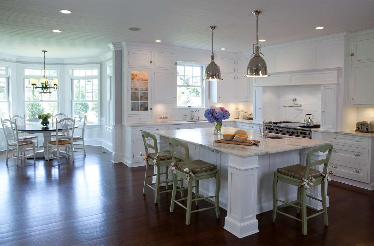 Hamptons Style Kitchen Design