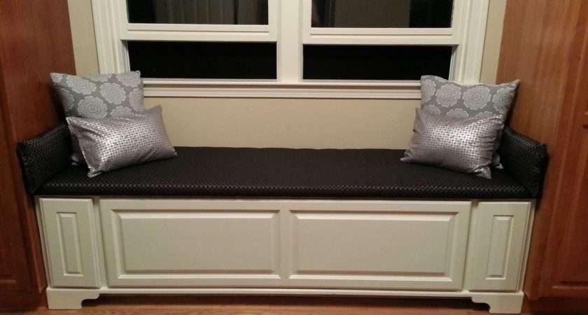 Hand Made Window Bench Drawers Homestead Woodshop