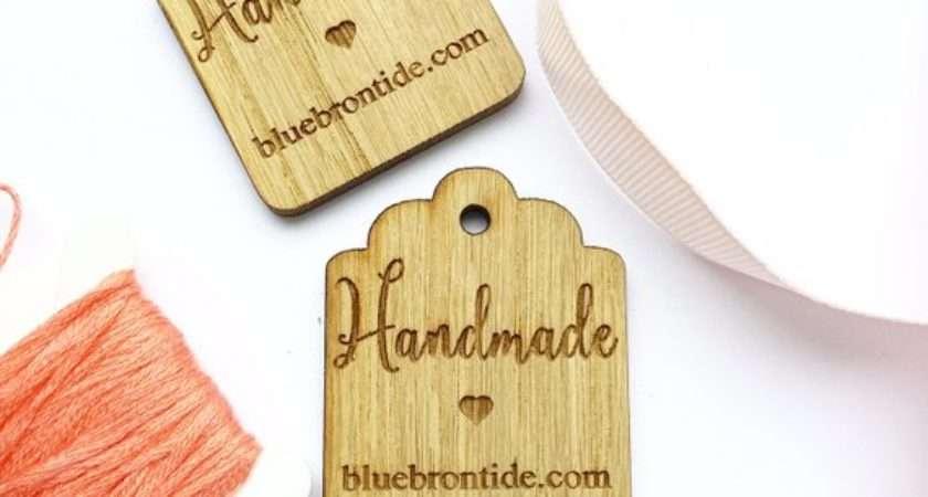 Handmade Craft Labels Wooden