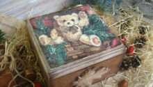 Handmade Decoupage Art Gift Ideas Christmas