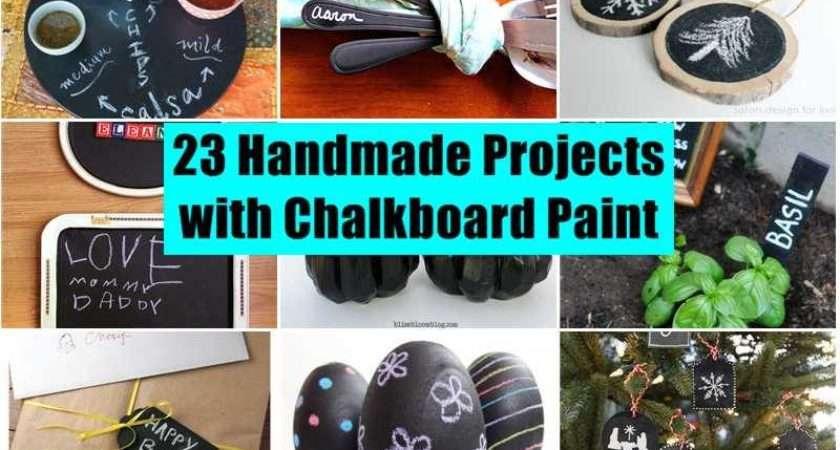 Handmade Projects Using Chalkboard Paint Find Fun Art