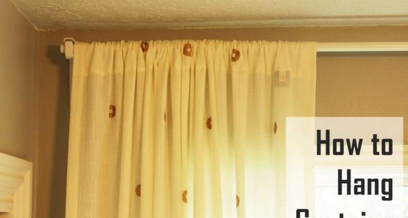 Hang Curtains Basic Guide Realty