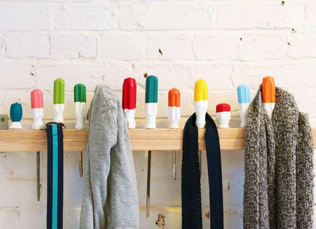 Hang Diy Coat Rack Storage Clever Solutions Can