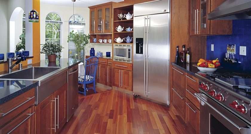 Hardwood Floor Kitchen Allowed