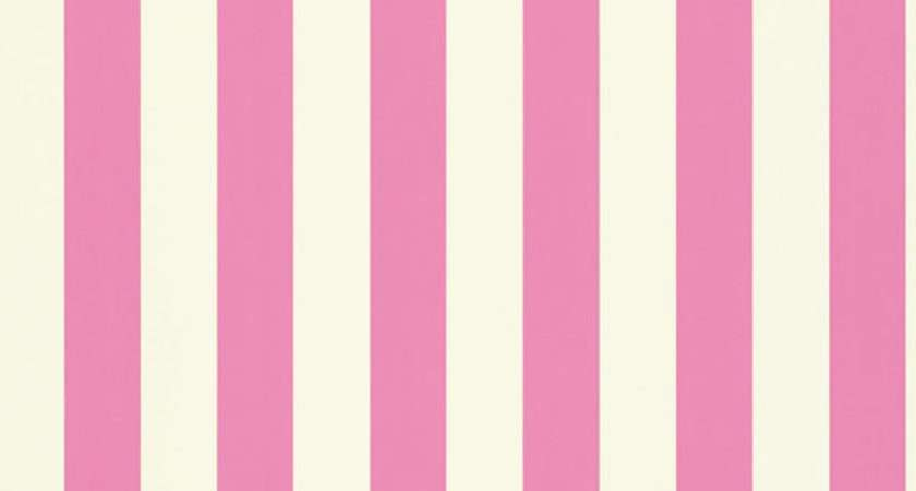 Harlequin Mimi Stripe Pink White