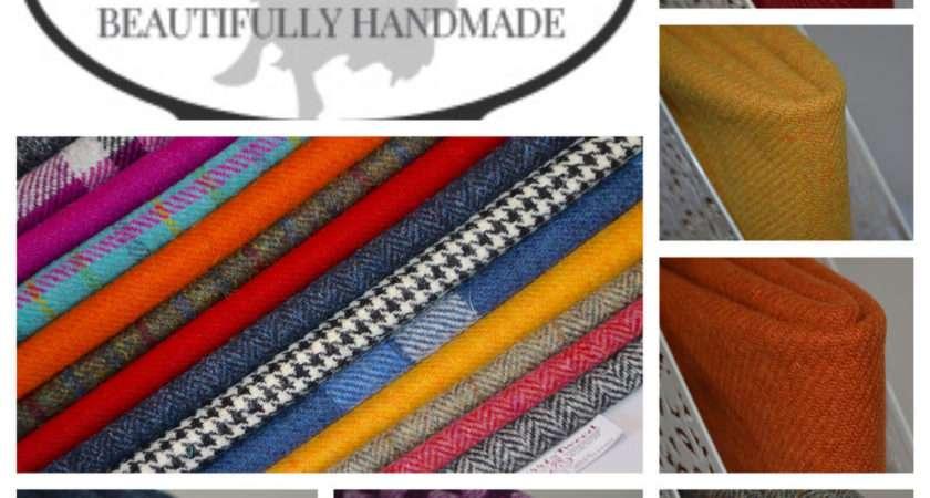 Harris Tweed Fabric Labels Tartan Wool Craft