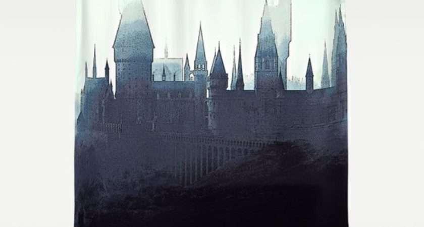 Harry Potter Hogwarts Shower Curtain Juniper Vinetree