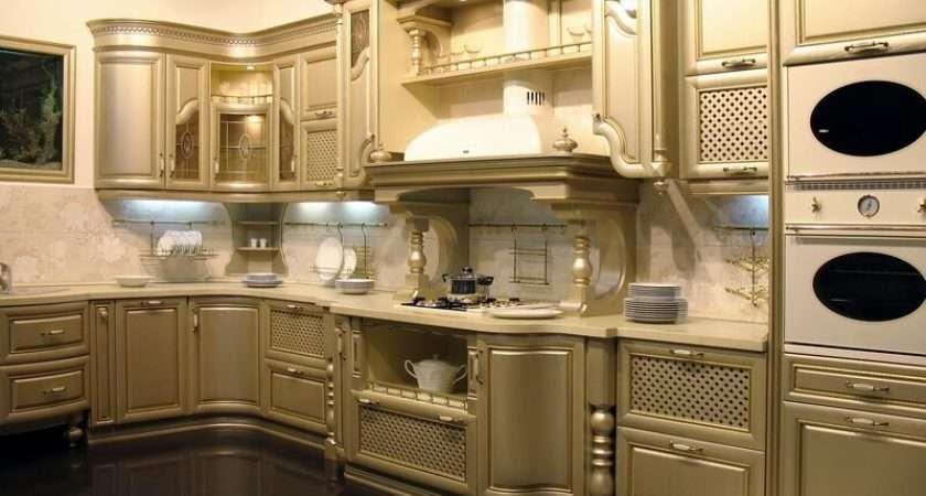 Has Kitchens Featuring Gold Kitchen
