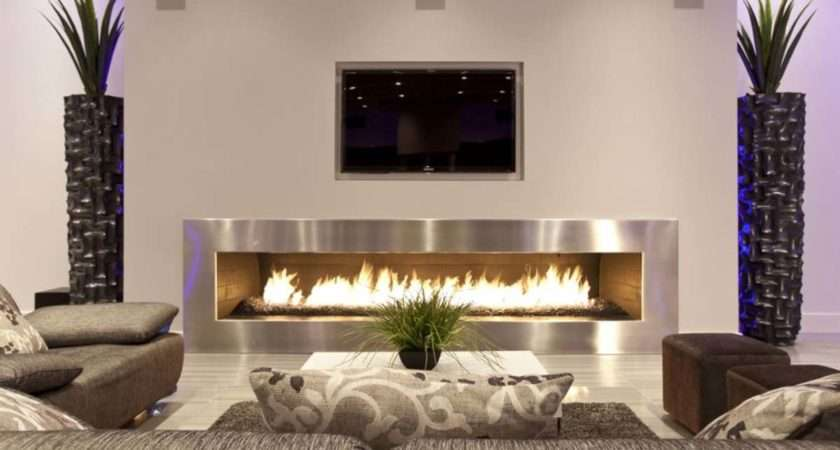 Have Your Television Set Installed Center Living Room