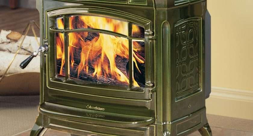 Hearthstone Shelburne Cast Iron Wood Stove Monroe Fireplace