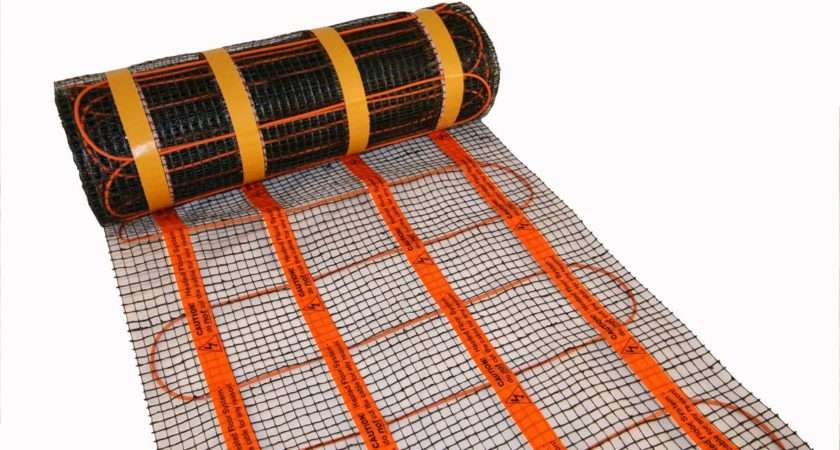 Heat Mat Underfloor Heating Standard Rooms