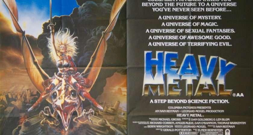 Heavy Metal Movie Poster Vintage Posters