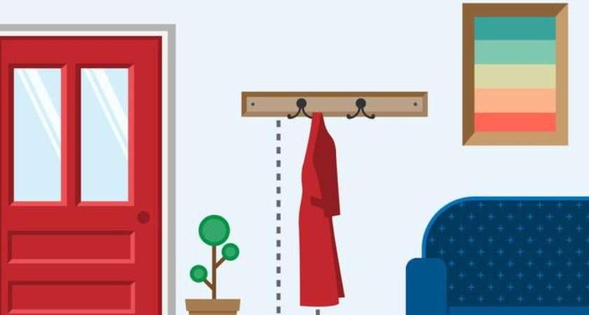 Height Wall Hang Coat Rack Hunker