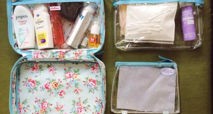 Hello Jesso Travel Packing Ideal Wash Bag Cath Kidston