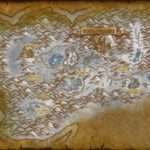 Helm Bed Lake Dun Morogh Map World Warcraft Cataclysm