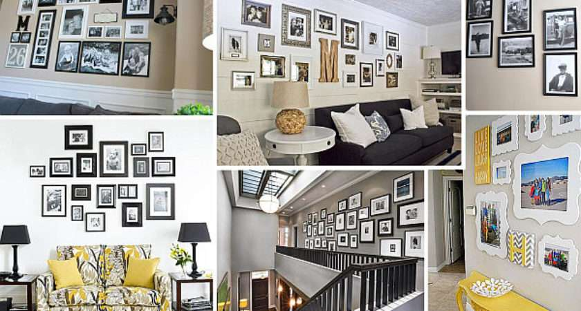 Helpful Hints Displaying Photos Your Walls