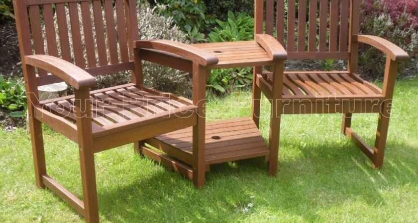 Henley Corner Love Seat Hardwood Garden Bench Price