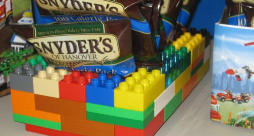 Here Another Lego Idea Decorations Your Birthday Party
