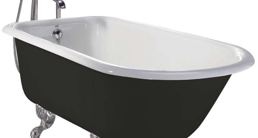 Heritage Wessex Cast Iron Roll Top Bath Feet Brt