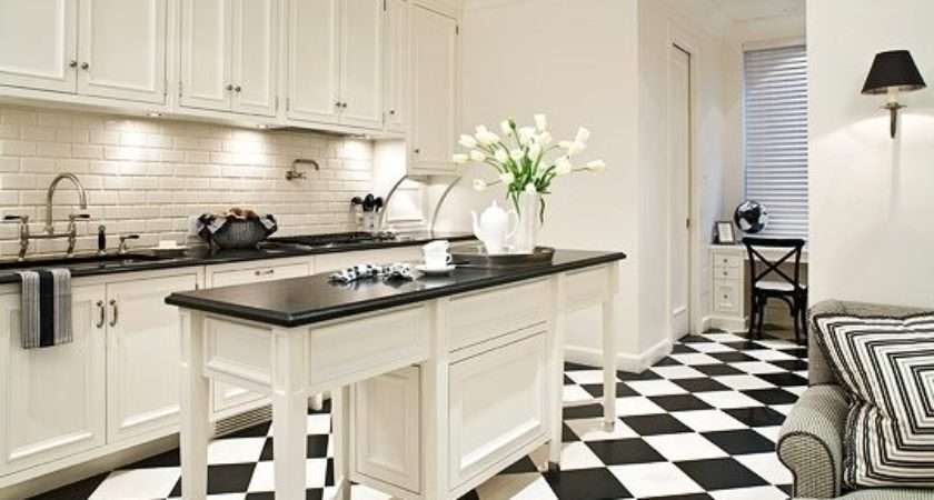 Hermosas Cocinas Color Blanco Negro
