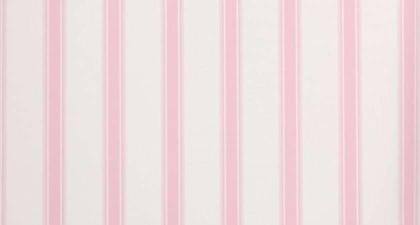 Hero Classic Stripe White Pink Traditional