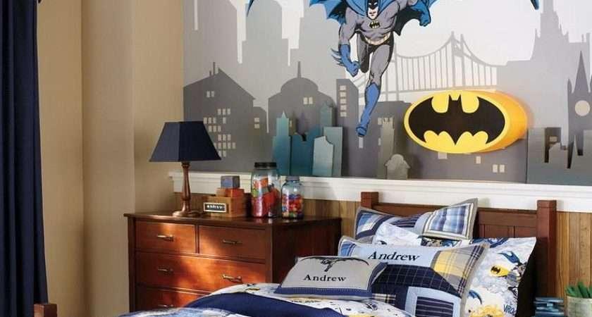 Hero Theme Boy Room Decorating Ideas Classic Bedroom