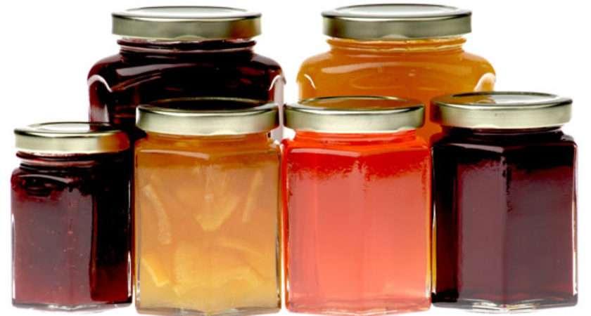 Hexagonal Jars Buy Jam Preserving