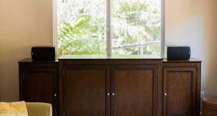 Hidden Lift Cabinet