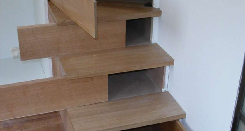 Hidden Storage Staircase Stashvault