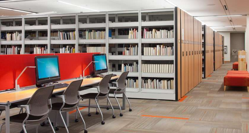 High Density Library Shelving Storage