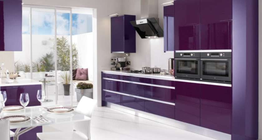 High Gloss Kitchen Designs Modular Colours