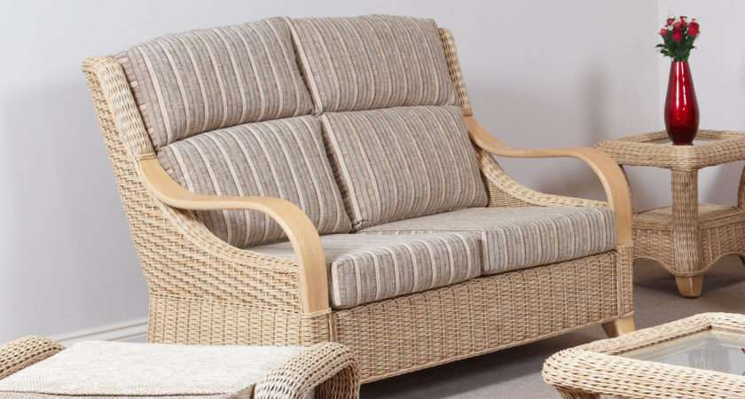 Hilton Conservatory Cane Furniture Wicker Two Seater