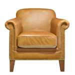 Hinkley Leather Chair