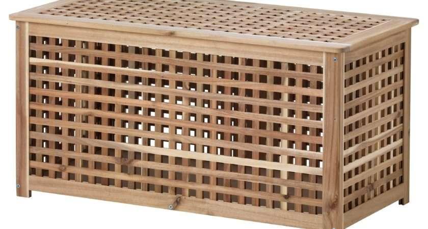 Hol Storage Table Acacia Ikea
