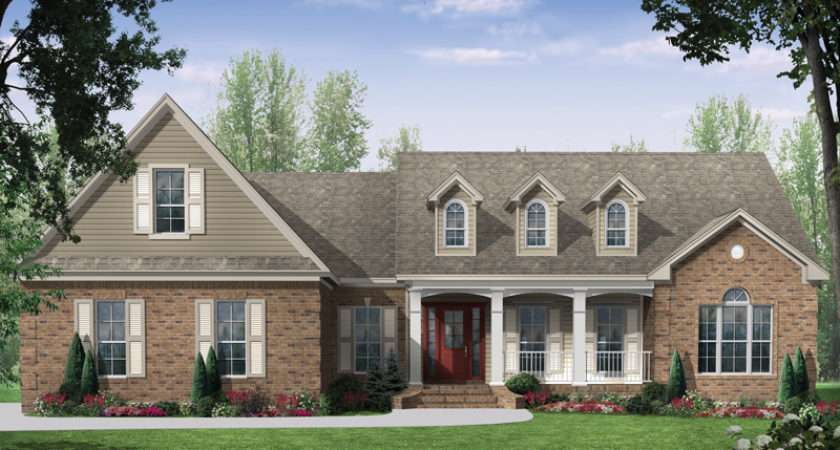 Holly Green Country Ranch Home Plan House